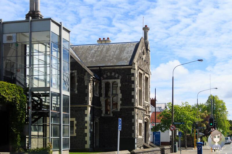 eine Kirche in Christchurch
