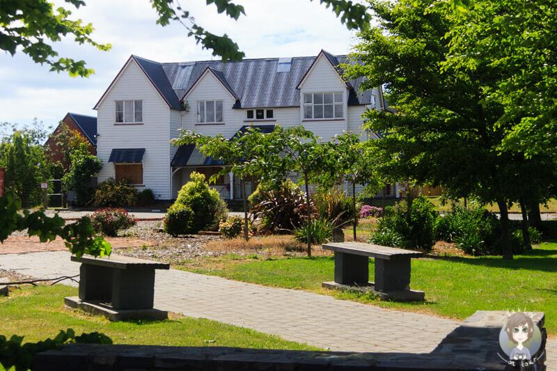eine Hausruine in Christchurch