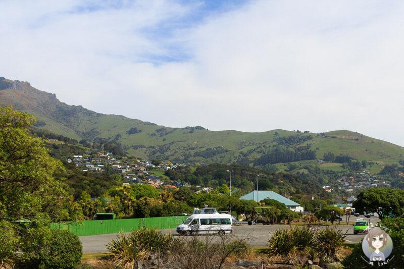 Freedom Camping in Akaroa, Neuseeland (3)
