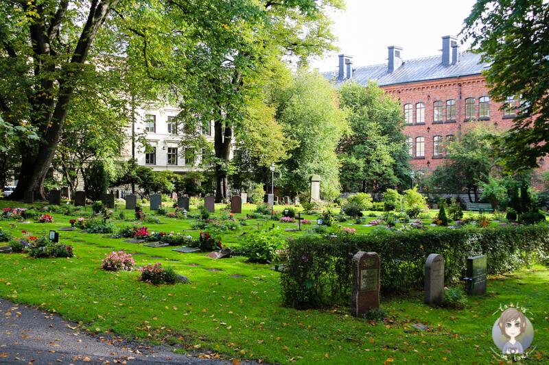 Der Friedhof der Katarina Kyrka in Stockholm