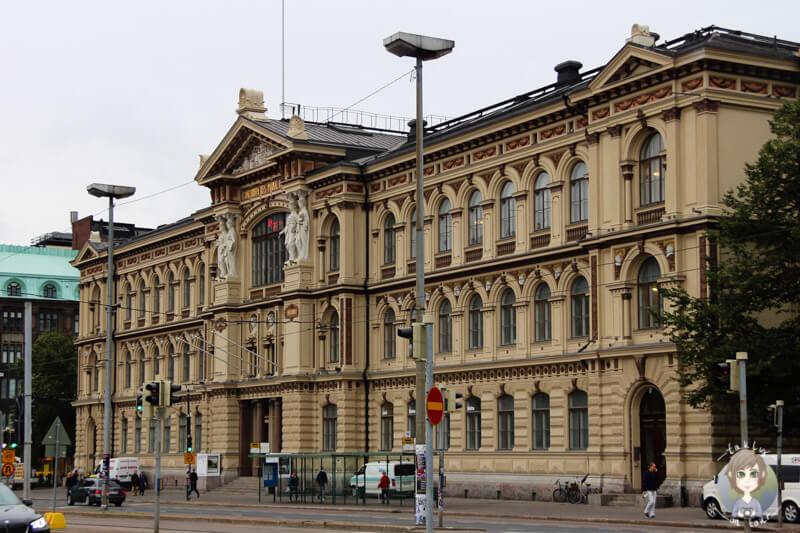 Gebäude am Hauptbahnhof in Helsinki