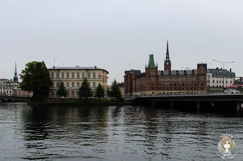 Die Stockholmer Innenstadt