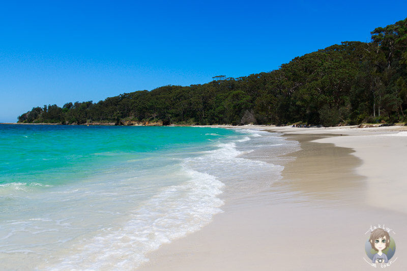 Der Murrays Beach im Booderee National Park, Australien