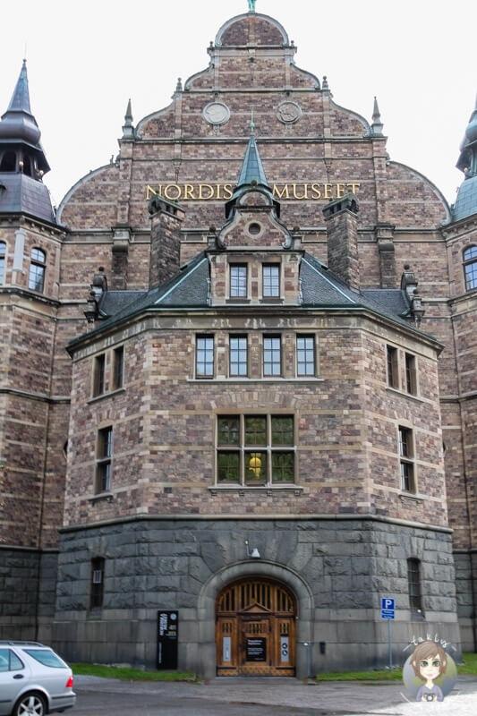 Nordisches Museum in Stockholm