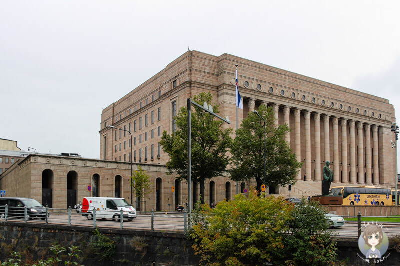 Parlamentsgebäude von Helsinki