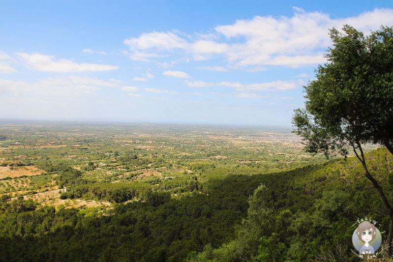 Aussicht auf den Puig de Randa auf Mallorca