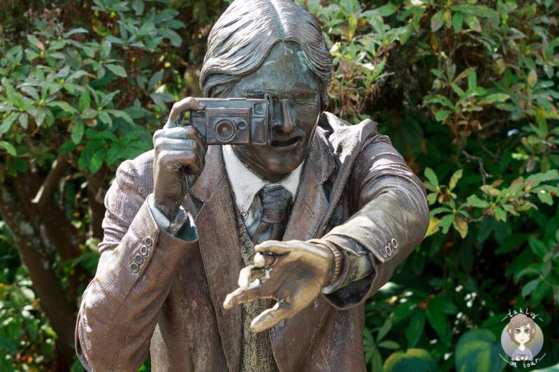Eine fotografierende Statue - Fotografietipps Regeln fuer die Reisefotografie