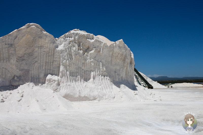 Salz der Salines d´es Trenc, Mallorca