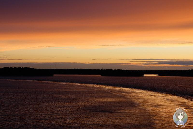 Sonnenuntergang über der Ostsee (2)