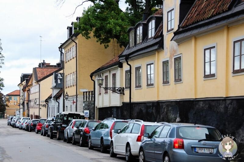 Straße in Södermalm, Stockholm