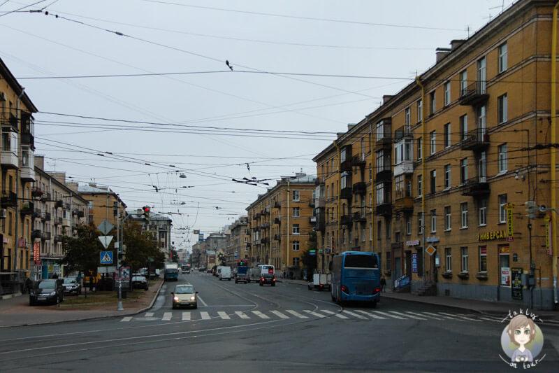Straßen in St. Petersburg