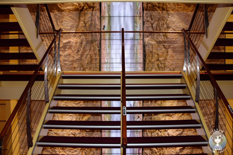 Treppenhaus der AIDAmar