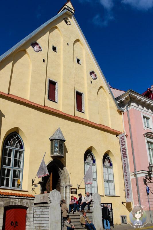 ein schönes Gebäude in Tallinn