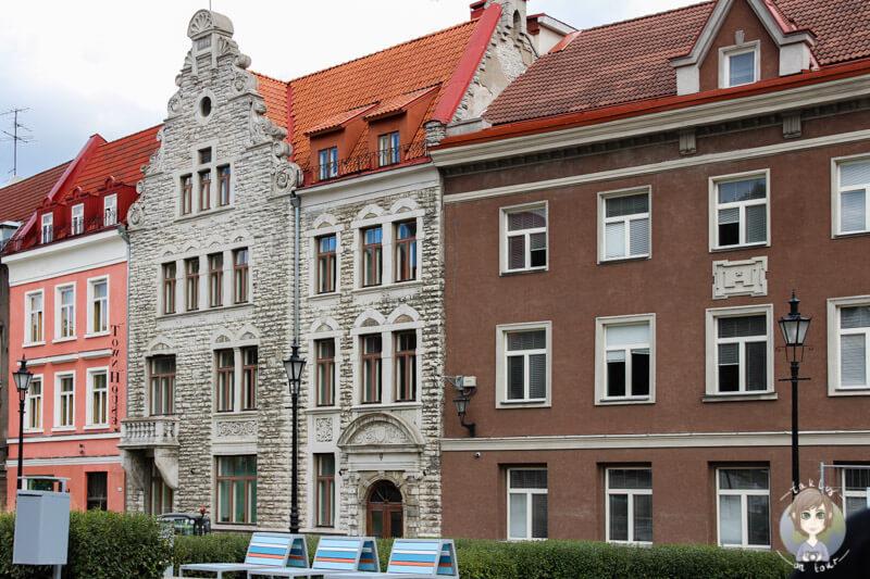 wunderschöne Gebäude in Tallinn, Estland