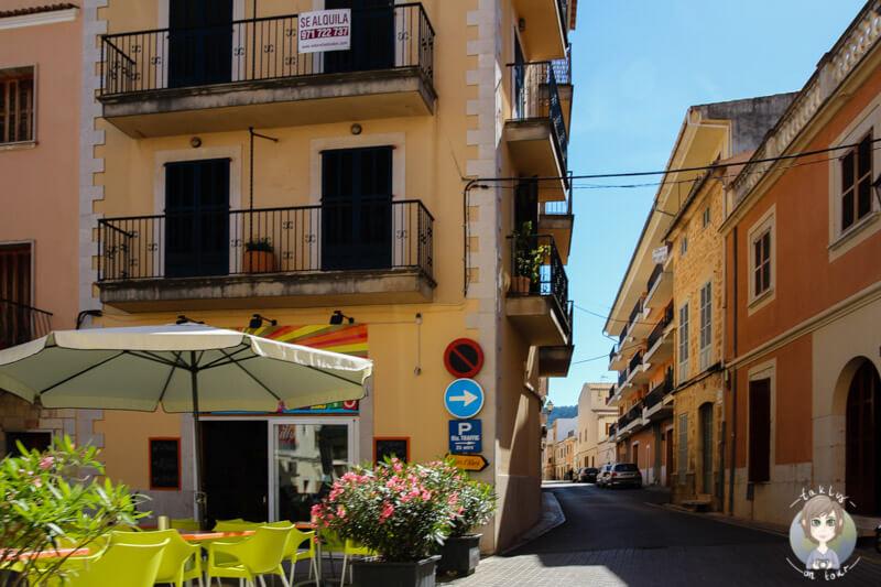 Die Gassen von Alaró auf Mallorca