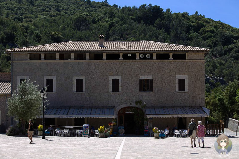 Ein Nebengebäude vom Santauri de Lluc, Mallorca