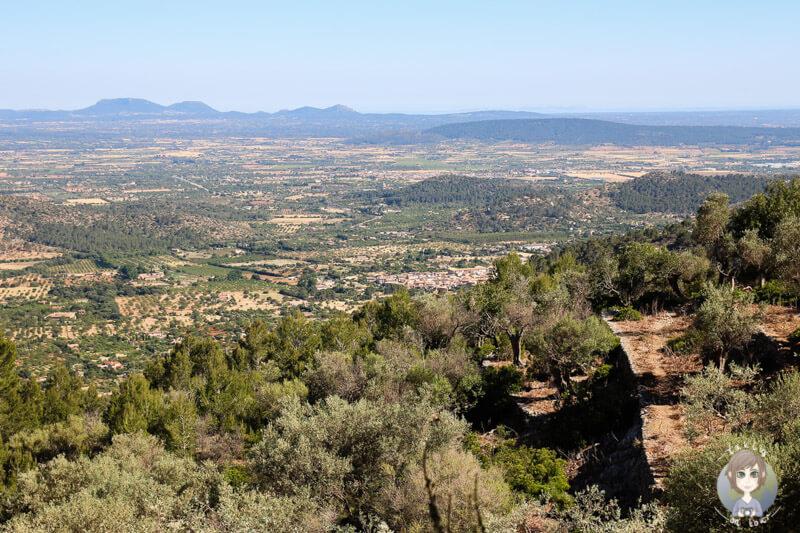 Tolle Aussicht auf Mallorca