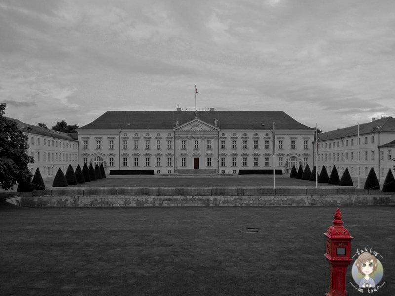 Das Schloss Bellevue in Berlin