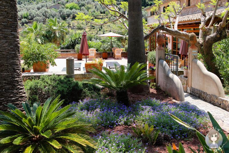 Der schöne Garten vom Gutshaus Son Breda, Mallorca