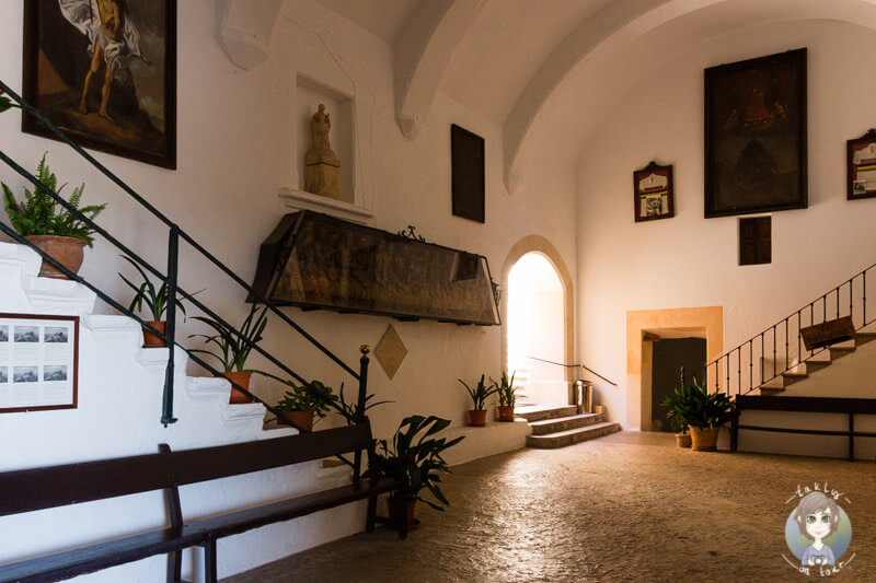 Das Innere des Klosters Sant Salvador in Felanitx