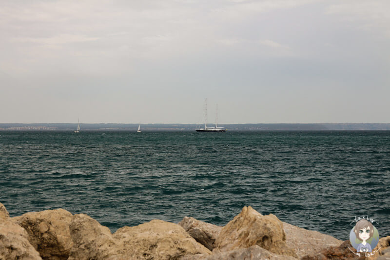 Das Mittelmeer in Palma, Mallorca
