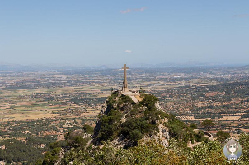 Das Steinkreuz von San Salvador, Mallorca