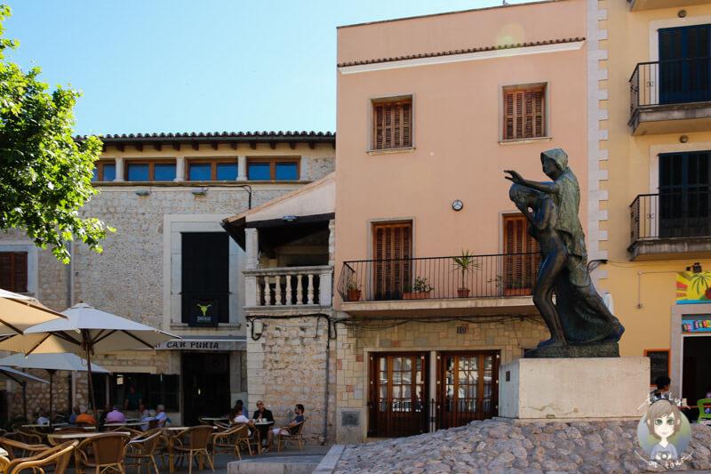 Marktplatz von Alaró auf Mallorca