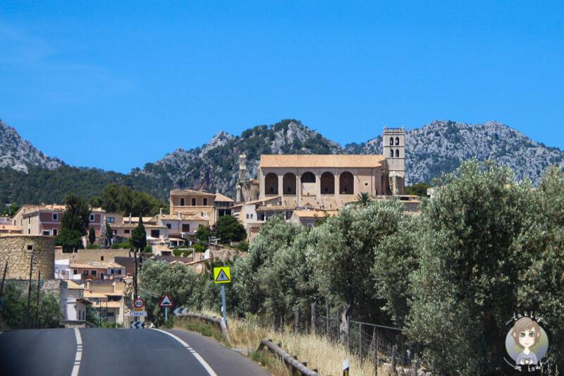 Selva ein Bergdorf auf Mallorca
