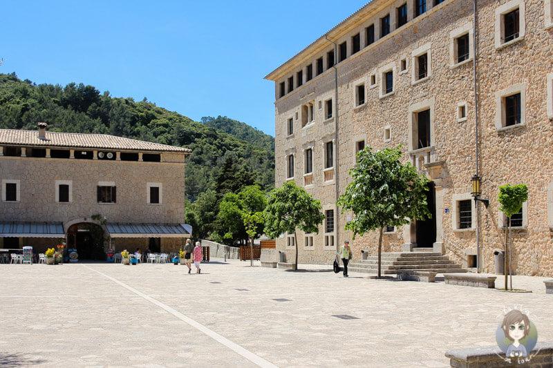 Haupteingang der Kloster lluc