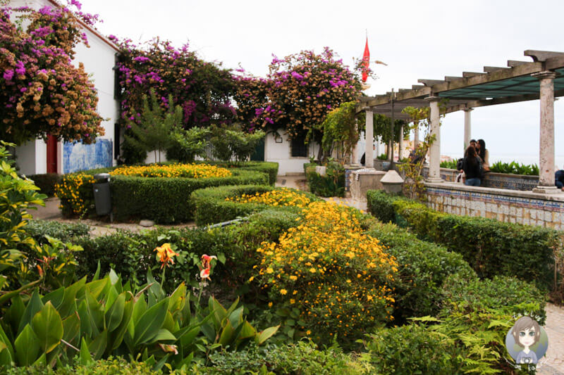 Der Aussichtspunkt Santa Luzia, Lissabon