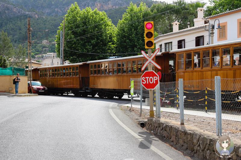 Die Bahn von Palma nach Sóller