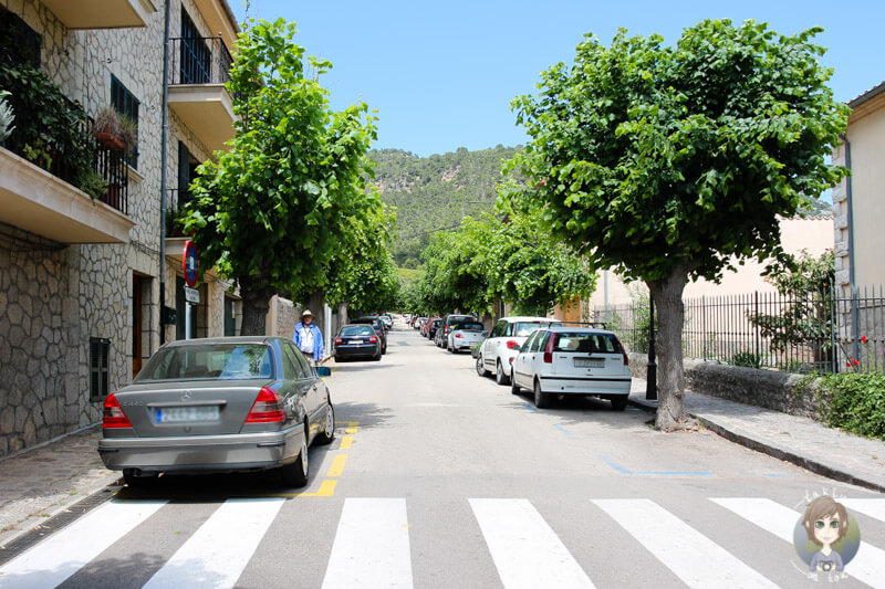Nebenstraße in Valldemossa