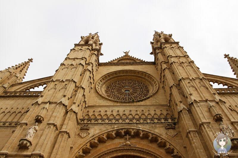 Die Kathedrale der heiligen Maria in Palma