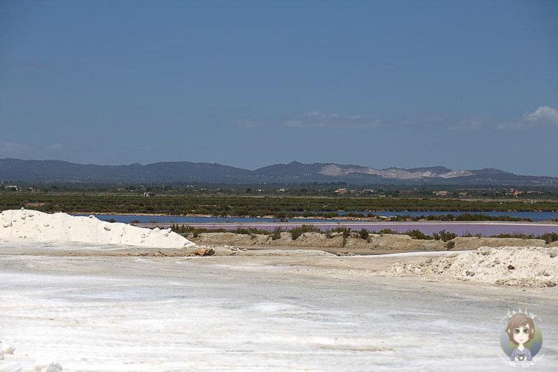 Die Salzsalinen von Es Trenc auf Mallorca