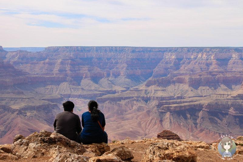 Die Weite des Grand Canyon