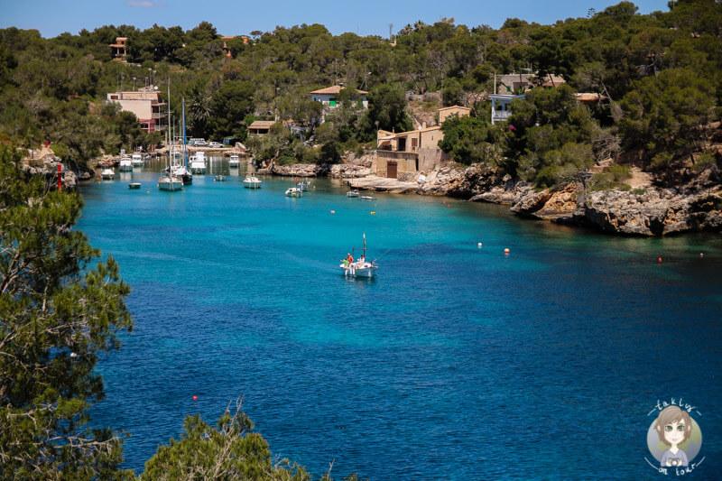 Die Bucht von Cala Figuera, Mallorca