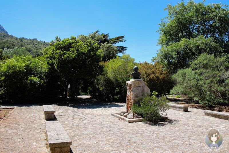 Innenhof am Santauri de Lluc, Mallorca