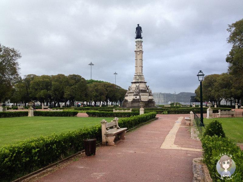 Ein schön angelegter Platz im Herzen von Belém
