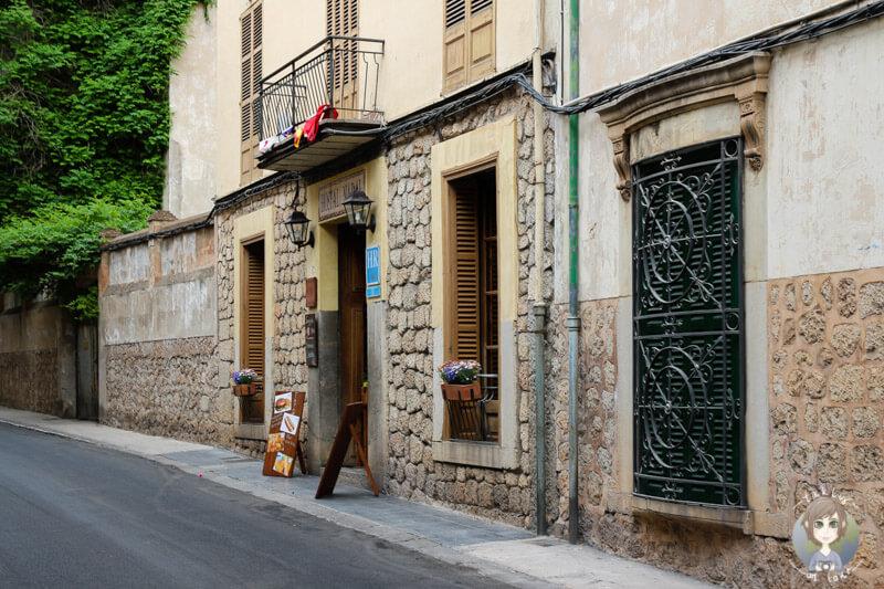 Ein schönes Restaurant auf Mallorca