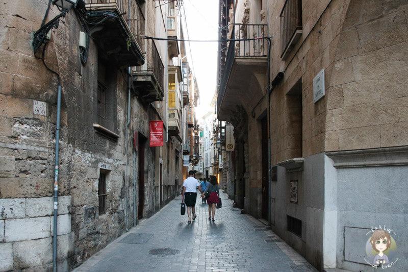 Die Gassen von Palma