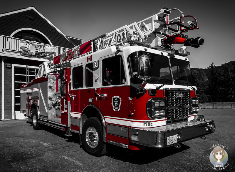 Feuerwehr Whistler - (c) takly on tour