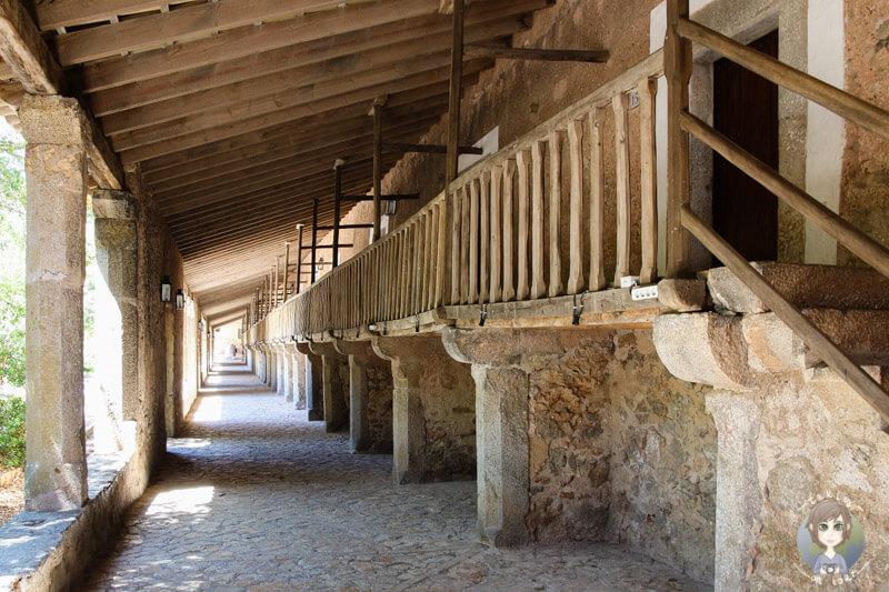 Gästezimmer im Kloster Lluc