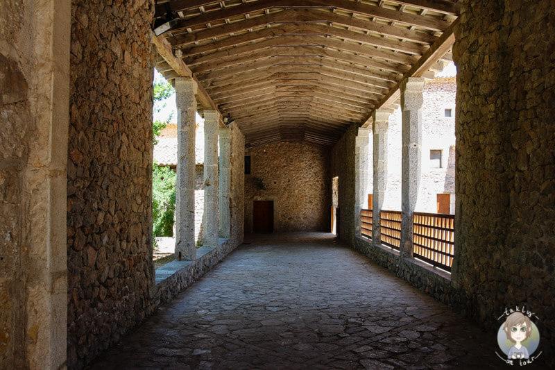 Ein Gang im Santauri de Lluc auf Mallorca