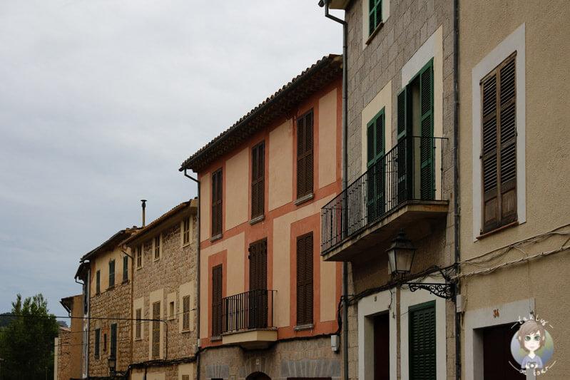 Schöne Architektur in Sóller auf Mallorca