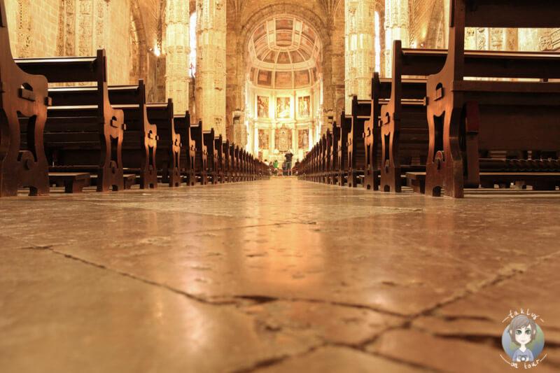 Die schöne Kirche Santa Maria am Mosteiro dos Jerónimos, Belém