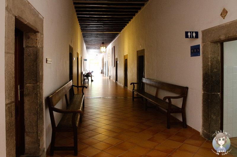 Im Inneren des Santauri de Lluc, Mallorca