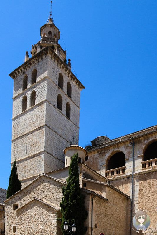 Die Kirche von Inca auf Mallorca
