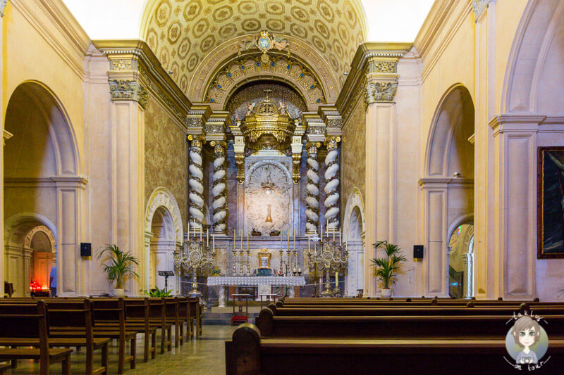 Die anschauliche Klosterkirche in Sant Salvador