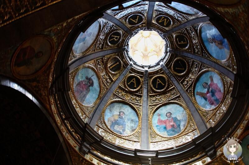 Im Innenraum der Basilika Lluc