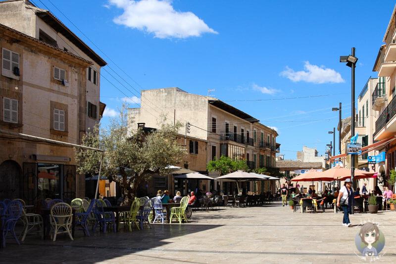 Der Marktplatz in Santanyí